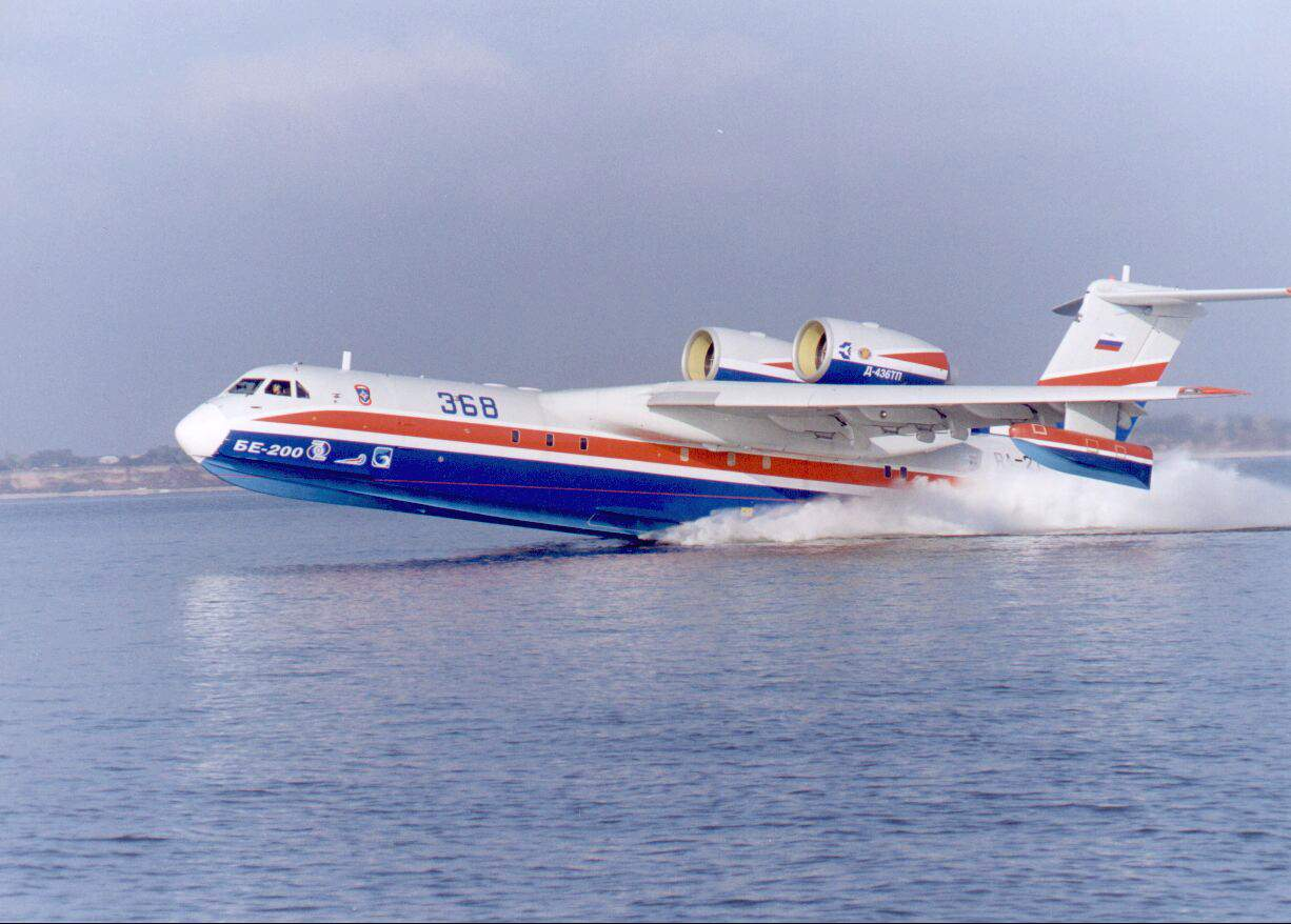 Be-200 Amphibian Aircraft