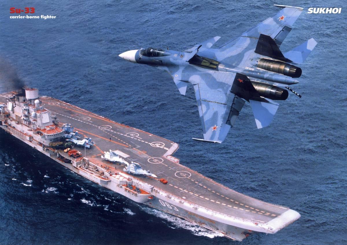 New Russian Aircraft Carrier
